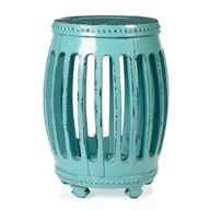 Winslow Stool - Aquamarine from Z Gallerie #celebstylewed #decor