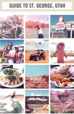 | where to eat and what to do in st. george utah |