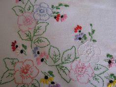 Shortbread & Ginger: Vintage Linen Charity Shop Finds