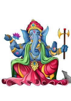 Baba Image, Indian Rangoli, Ganesha Painting, Krishna Art, Lord Ganesha, Indian Gods, Art Images, Design Art, Graphic Art