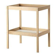 IKEA - SNIGLAR, Wickeltisch, , Angenehme Höhe, um Babys Windeln zu wechseln.Praktische Aufbewahrung in Reichweite: So hat man immer eine Hand am Baby.