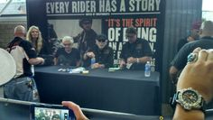 The President of Harley Davidson