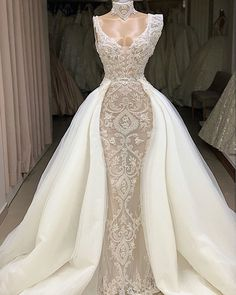Pretty Wedding Dresses, Luxury Wedding Dress, Lace Mermaid Wedding Dress, Perfect Wedding Dress, Bridal Dresses, Bridesmaid Dresses, Casual Wedding, Gown Wedding, Lovely Dresses