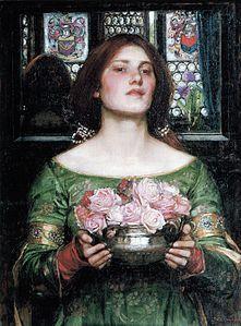 Gather Ye Rosebuds While Ye May - John William Waterhouse - Wikipedia