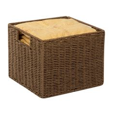 Found it at Wayfair - Parchment Cord Crate