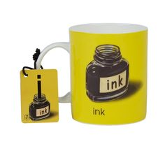 I is for Ink Mug: Made from fine bone china, these iconic Ladybird mugs feature a different letter of the alphabet, and a corresponding vintage illustration. Each one also includes a small matching magnet too. They are microwave and dishwasher proof, and hold 340ml /12oz liquid.