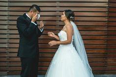 Las mejores fotos de la primera vez que se ven los novios - bodas.com.mx