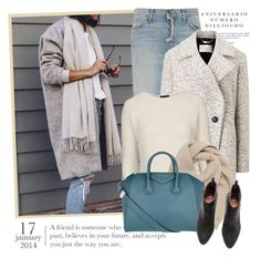"""""""2516. Get The Look"""" by chocolatepumma ❤ liked on Polyvore featuring Sinclair, Current/Elliott, Windsmoor, Topshop, Mulberry and Givenchy"""