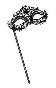 The Masks: Add an element of mystery with masquerade masks ($25) for all the partygoers.