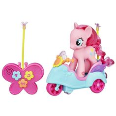 Buy My Little Pony - Pinkie Pie Remote Control Scooter at Mighty Ape Australia. A pony who's on the move needs a way to get around to all her adventures! This fancy little scooter is remote-controlled for hours of pony fun. Pinkie Pie, Toys R Us, Ipod Touch, 4 Year Old Girl, Ipad, Best Kids Toys, Toys Online, My Little Pony Friendship, 4 Year Olds