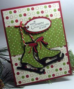 Christmas Skates Card