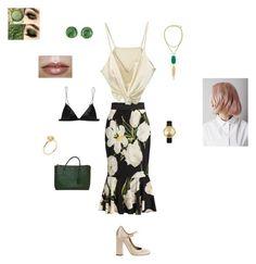 dressy by tamijlovesyou on Polyvore featuring polyvore moda style Dolce&Gabbana T By Alexander Wang Tory Burch Kendra Scott Nixon Goshwara Miu Miu fashion clothing