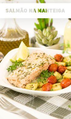 a995b0dc857 Ei! Quem ai ama um peixinho  E se acompanhado de legumes assados então é