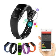 1pc new men women sports Smart Bracelet Heart Rate Monitor Activity Fitness Tracker Wristband Smart watch clocks gift H4