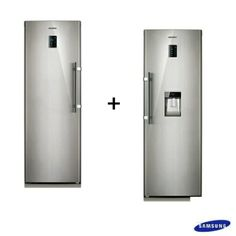Freezer Vertical 277L + Refrigerador 348L Samsung - fastshop.com.br