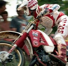 Scott Burnworth Yamaha YZ 125  1986