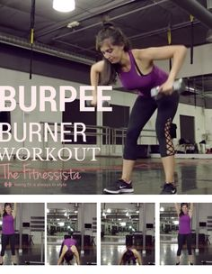Burpee Burner Workout - Total Body Workout to Burn Major Calories Full Body Workout Routine, Workout Routines For Beginners, Abs Workout Routines, Workout Videos, Killer Workouts, Easy Workouts, Cardio Workouts, Hiit, Beginner Workout Program