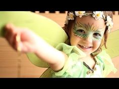 Maquillaje de hada para Carnaval #maquillaje #hada #carnaval #froggies #snazaroo #pintacaras #mascara #antifaz #carnavales #charhadas