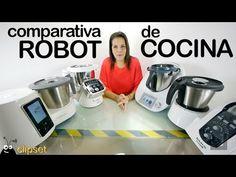 Comparativa robot cocina Thermomix, SuperCook, Moulinex Cuisine Companio... I Companion, Rice Cooker, Youtube, Kitchen Appliances, Enemies, Cooking, Natural, Ideas, Food Processor