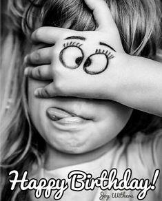 Funny Face Happy Birthday