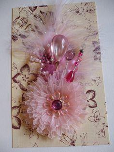 Pink Handmade Flower by jennings644 on Etsy