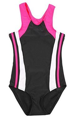 a75d2098b639e Shop for Girl's One Piece Swimsuit Splice Sport Training Racerback Swimming  Suit - Black/Red - at best price, a large range of designer Girls' One- Pieces ...