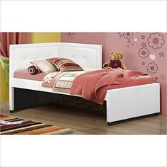Hillsdale Furniture 1380BFR Frankfort Bed Set - Full - with Rails