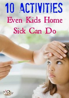 When a sick day comes up, there is rarely any warning. You put a healthy child to bed, and when you wake them in the morning, they are burning with fe...