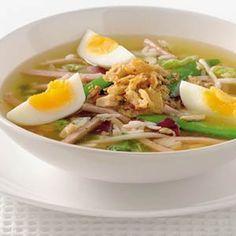 Recept - Indonesische maaltijdkippensoep - Allerhande