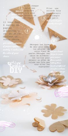 DIY flower wrapping  - by Bohème Circus