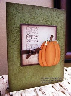 WAXYO Happy Halloween by WAXYO - Cards and Paper Crafts at Splitcoaststampers
