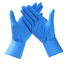 Saneck Powderfree Vinyl 100 Gloves Size Large