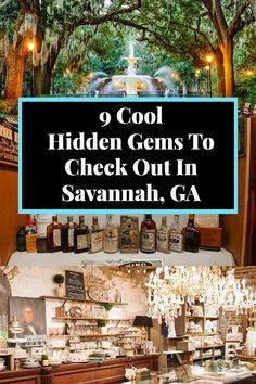 Get off the beaten path in Savannah, Georgia by adding these 9 cool hidden gems to your itinerary! #savannah #georgia #offthebeatenath #travel #summervacation #travelawaitsnow | travelawaits.com