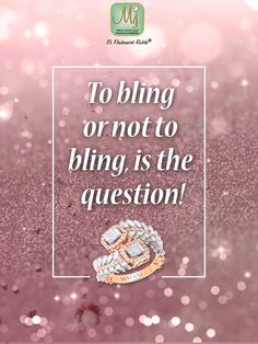 The answer is always YES! Bling on with sparkling #jewelry from #MalaniJewelers. Get your #bling now: www.malanijewelers.com. #Quote #Pretty Diamond Jewelry, Gemstone Jewelry, Diamond Earrings, Jewelry Quotes, Unicorns, Bling Bling, Sparkles, Jewelry Collection, Glitter