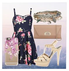 """""""Romantic"""" by juh-styles-334 on Polyvore featuring beleza, Ally Fashion, Aéropostale, Yves Saint Laurent, Christian Louboutin e Casetify"""