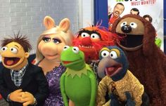 The Muppets on Good Morning America in 2014.