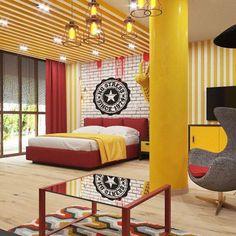 Hotel design by EL Ponomarenko VITTAGROUP STUDIO  www.vitta-group.com