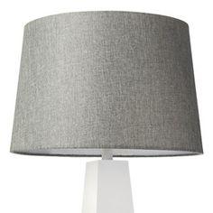 Threshold 13 X 15 X 10 Inch Grey Lampshade