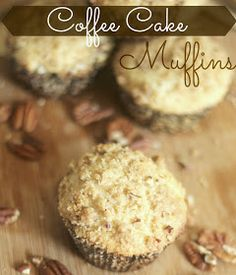 The Unsophisticated Kitchen: Coffee Cake Muffins
