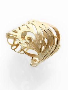 Salome Gold Feather Cuff by Kendra Scott Jewelry Gold Jewelry, Jewelry Bracelets, Jewelery, Jewelry Box, Gold Feathers, Kendra Scott Jewelry, Jewelry Crafts, Jewelry Ideas, Fashion Jewelry