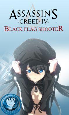 Assassin's Creed IV - Black Rock Shooter by DrOkami