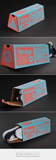 Vans Shoebox #packaging design by Nate Eul