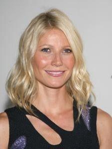 Gwyneth Paltrow Wavy Bob Hairstyle