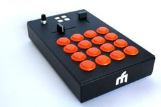 (via DJ TechTools  |  Introducing The Midi-Fighter Pro Controllers)