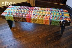 instructions for the woven bench