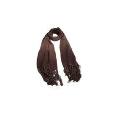 Pashmina Degrade Marrom de Lã #pashmina #pashimina #modafeminina #fashion #scarf #scarfs