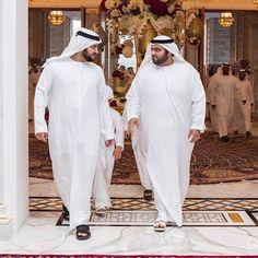 Maktoum bin Mohammed bin Rashid Al Maktoum y su cuñado, Mohammed bin Hamad bin Mohammed Al Sharqi, 09/06/2016. Vía: latifa.mrm