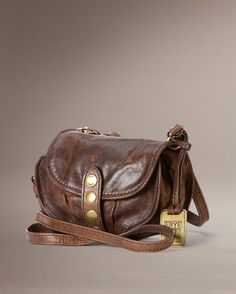 655bdc79a31f Frye Elaine Vintage Crossbody - Dark Brown Country Outfitter