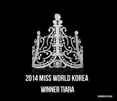 2014 미스 월드 코리아 위너 티아라 Designed by VELUCE #missworld #korea #tiara #veluce