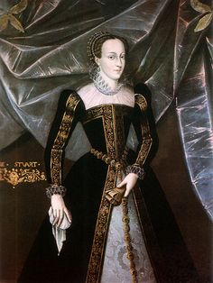 Mary Queen of Scots c.1561-1567 hair still in the French style after returning to Scotland